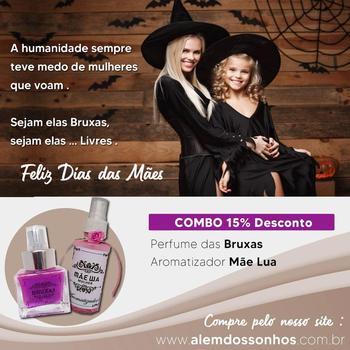 imagem Perfume das Bruxas + Aromatizador Mãe Lua