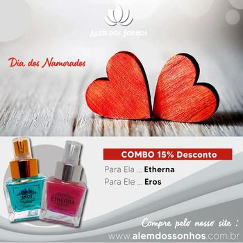 imagem Perfume Eros + Perfume Etherna