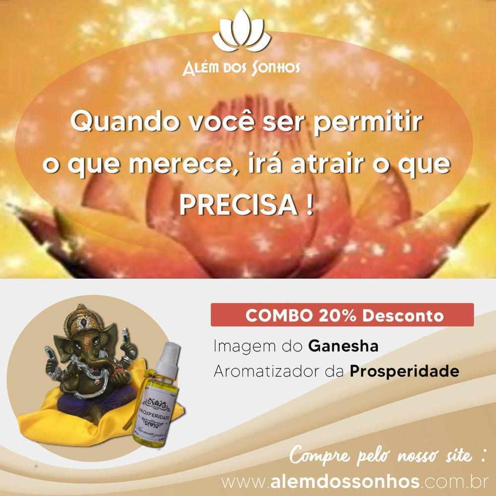 imagem Ganesha + Aromatizador para Prosperidade
