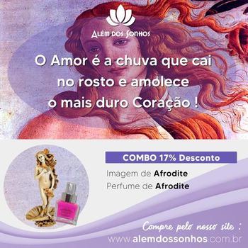 imagem Afrodite + Perfume de Afrodite